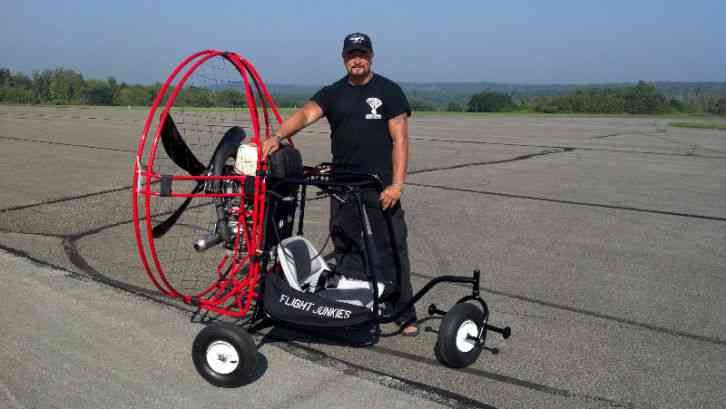 Powered Paraglider Trike, The FLY-POD, and Unlimited