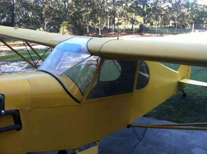 preceptor ultra pup ultralight aircraft   vw motor yellow  color