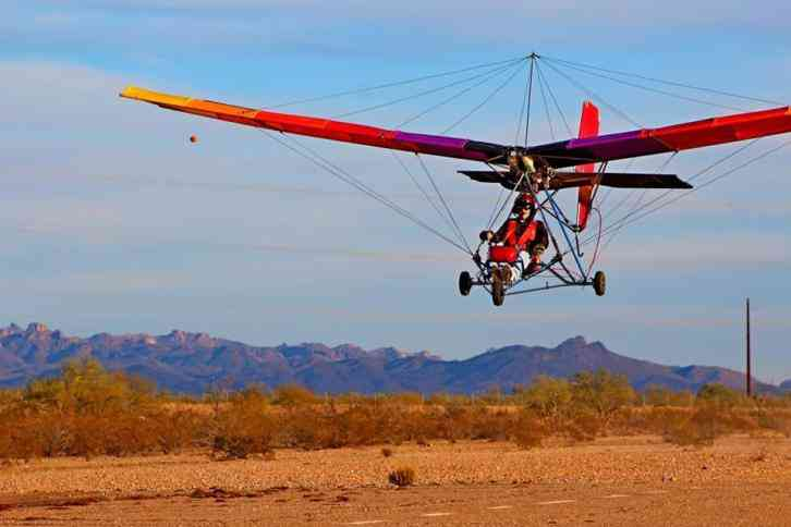 Quicksilver MX Ultralight Aircraft
