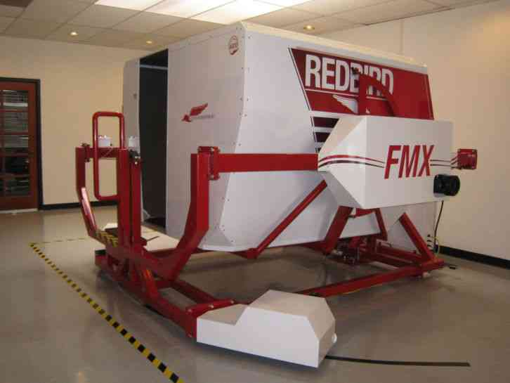 Redbird 2010 Looking to sell a very nice condition 2010 Redbird FMX cl full  motion flight