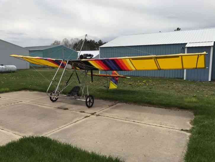 Country Region of Manufacture: United States Rotec Rally 2B Ultralight  Has  Rotax 377 engine with