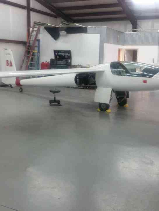 2007 S10 VT Stemme Motorglider, 2 place side by side, (ser# 11 114), 91 hrs  SNEW, Rotax 914S turbo