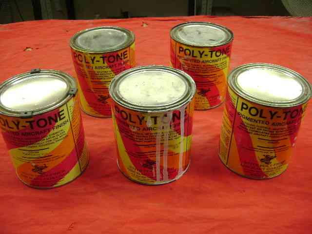 Stitts Poly Tone Pigmented Aircraft Paint Stitts Poly
