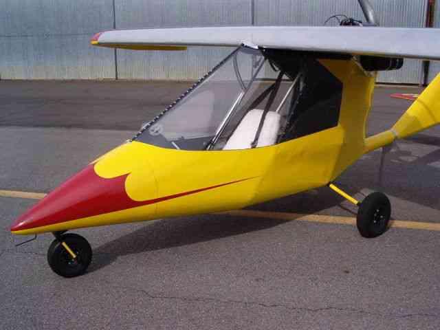 Titan Tornado 1 Ultralight Aircraft Airplane Single Seat