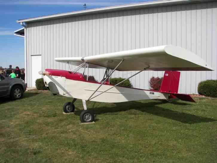 Simplex Zing Ultralight buitlt in 2015 with brand new Hirth F 33 28hp  engine with electric starter