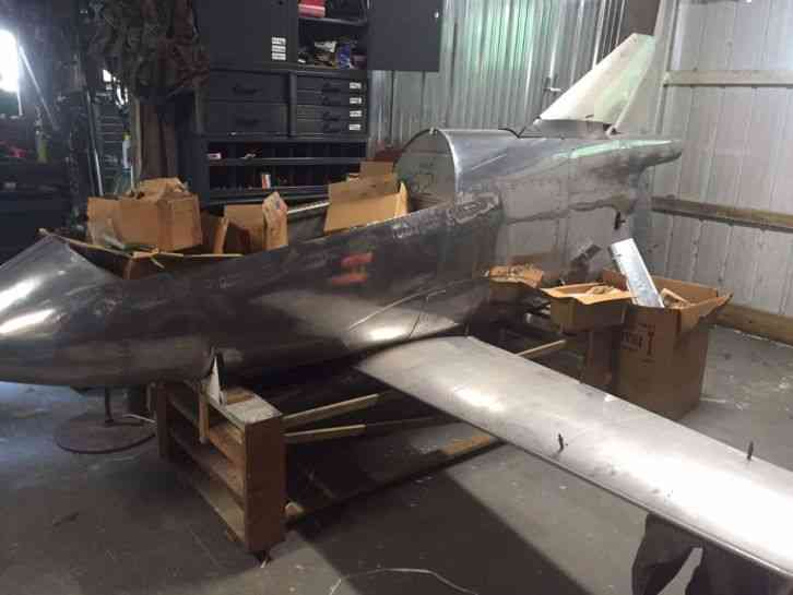 Bede 1972 1972 Bd 5 Airplane In Semi Built Stage Parts
