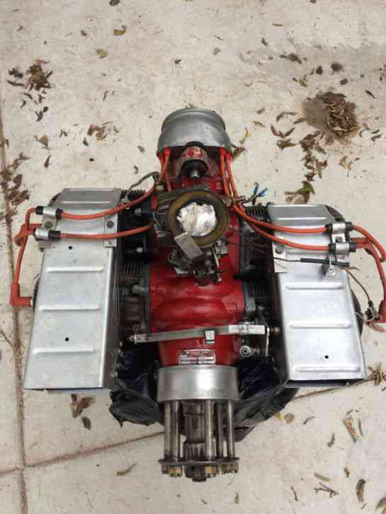 Vintage McCulloch 4 Cylinder 2 Stroke Military Target Drone Engine 4318A