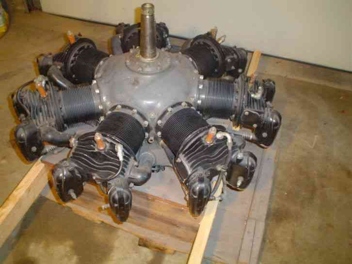 warner 40 scarab 125hp aircraft radial engine for sale