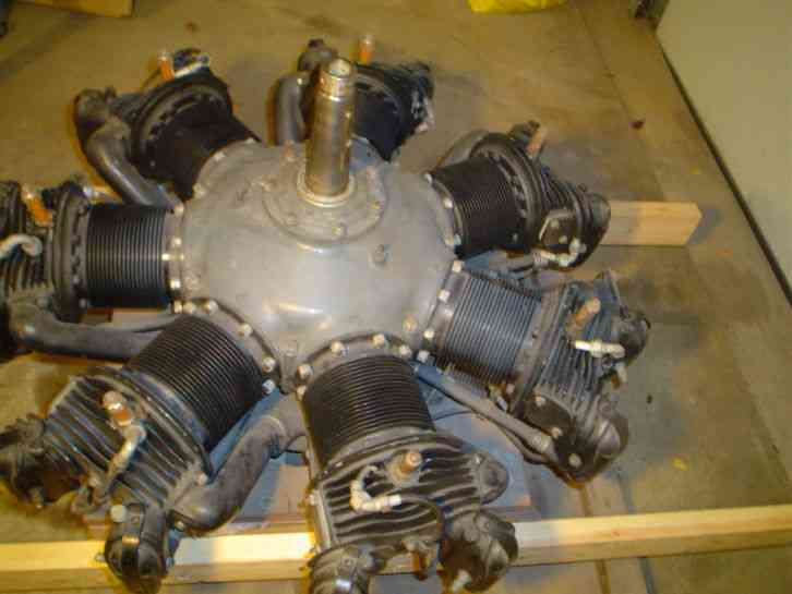 Warner 40 scarab 125hp aircraft radial engine for sale for Reconditioned motors for sale