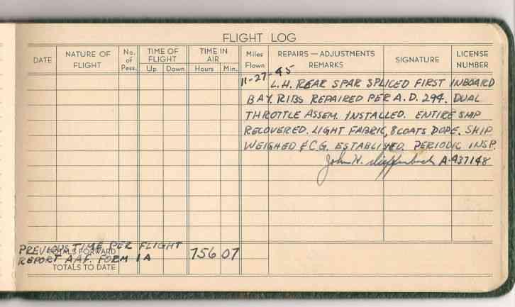 Aircraft Maintenance Records Acronyms