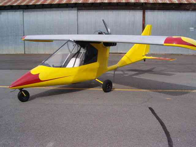 Used Ultralight Aircraft Titan Tornado Single Place
